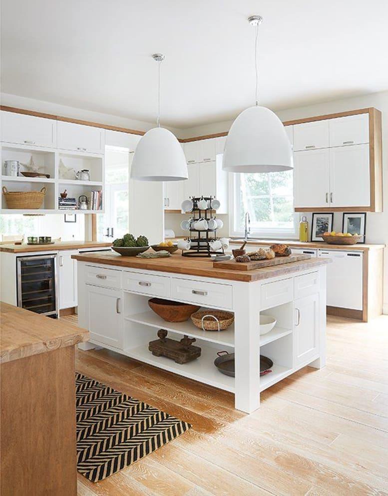 cucine su misura bianche