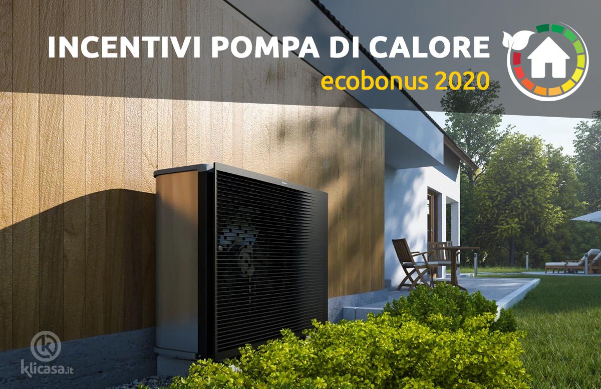 ecobonus 2020 pompa di calore