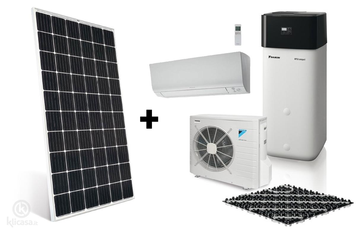 vantaggi pompa di calore abbinata a fotovoltaico